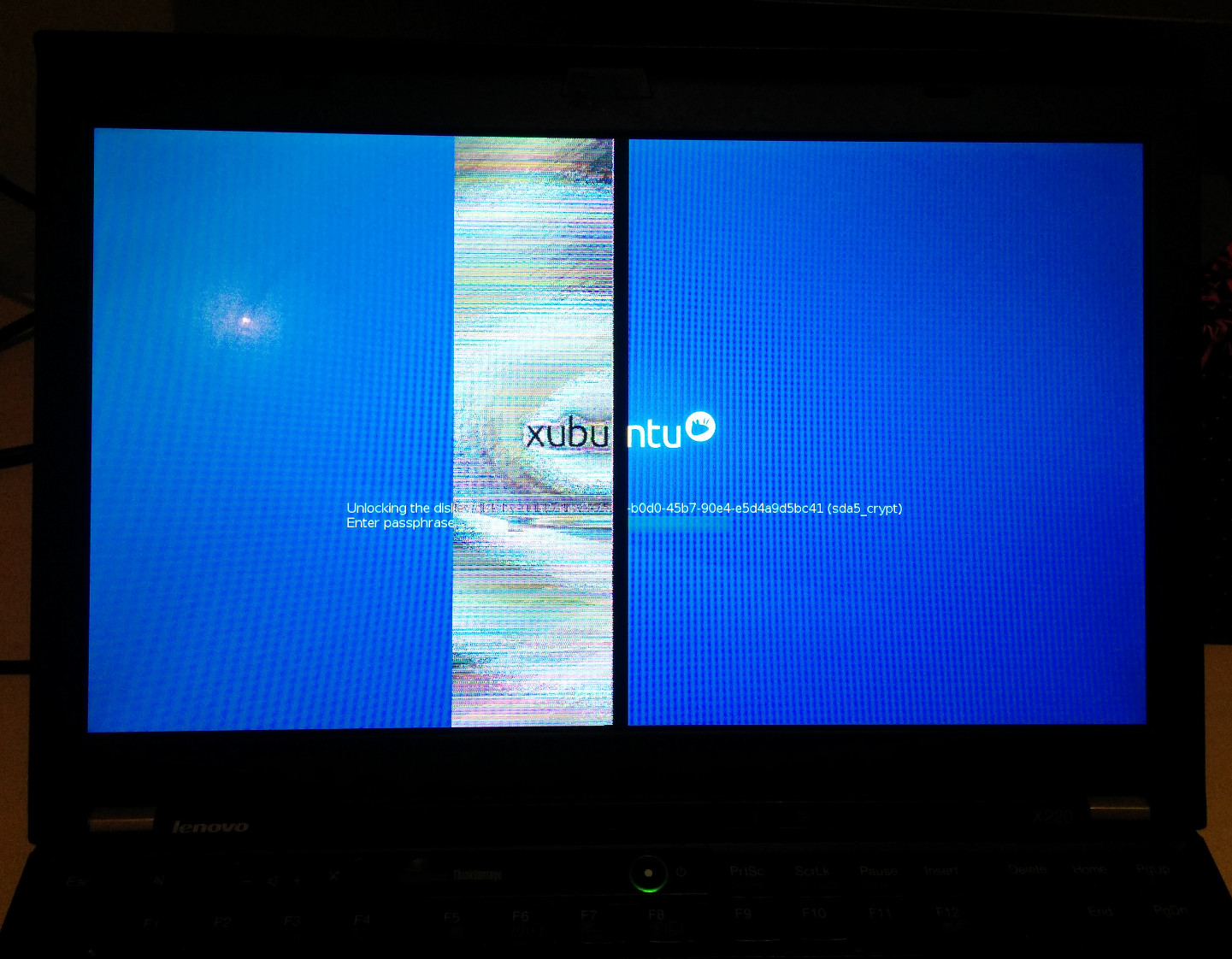 X220 screen problem - causes, fixes? (details inside